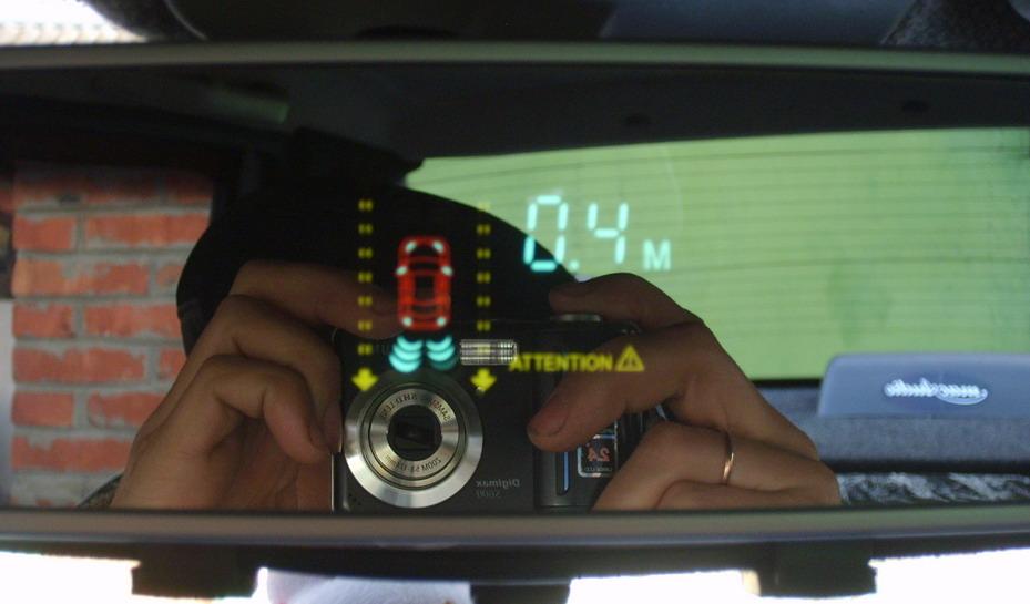 Фото №1 - ВАЗ 2110 установка парктроника